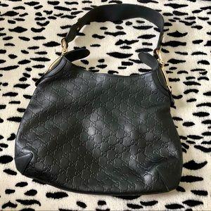 Gucci Guccissima Leather Shoulder Bag